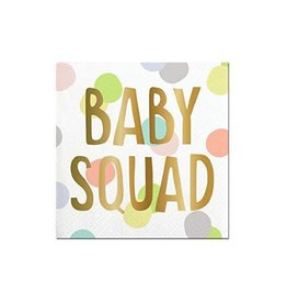 baby squad foil bev nap FINAL SALE