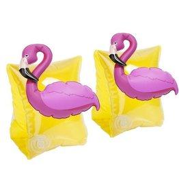 flamingo arm band floaties