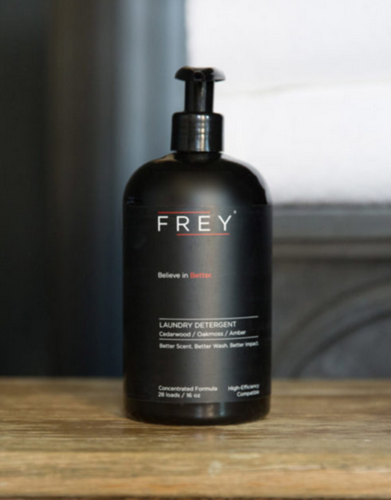 frey 16 oz concentrated detergent - oakmoss/cedarwood/amber