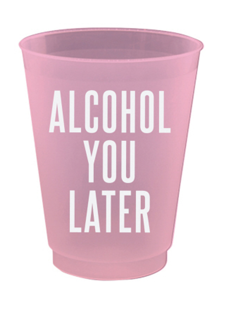 alcohol you later 4oz party cups 8ct