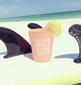 suns out buns out 16oz party cups 8ct FINAL SALE