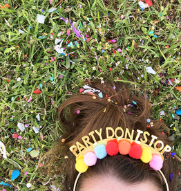 packed party party dont stop headband