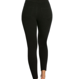 Spanx ankle jean-ish leggings black XL