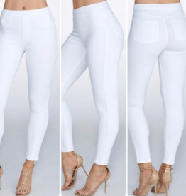 Spanx jean-ish leggings white XL