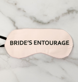 bride's entourage eye mask