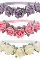 3 pack flower headbands
