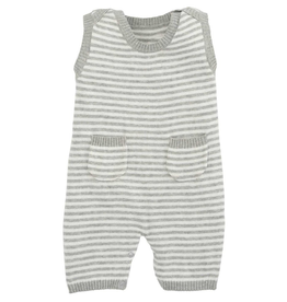 grey stripe shortall 3-6 month