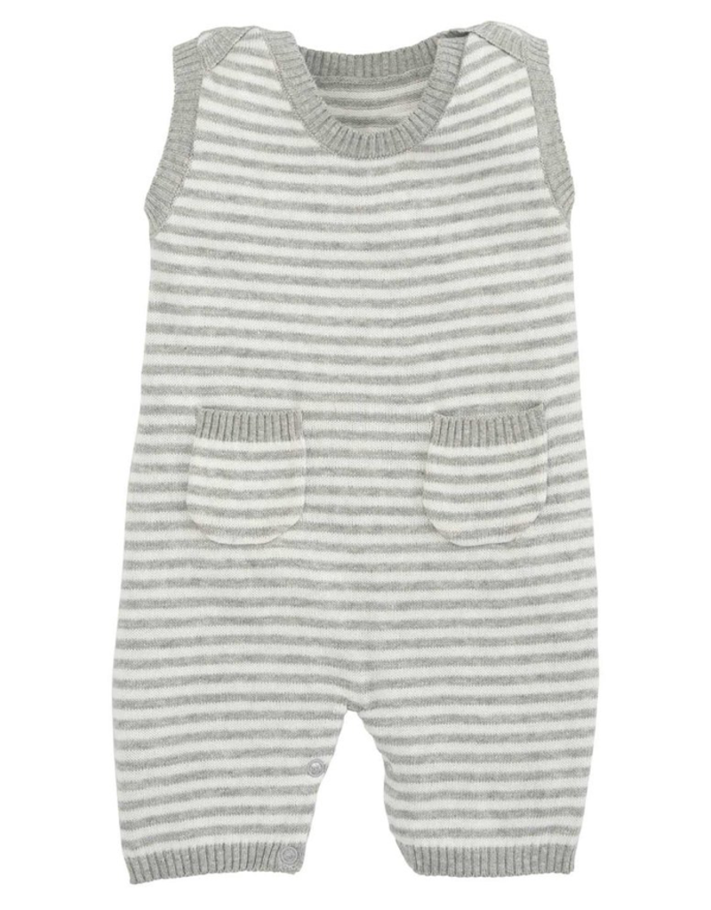 grey stripe shortall 3-6 month
