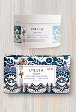 lollia dream whipped body butter