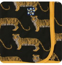 kickee pants zebra tiger swaddling blanket