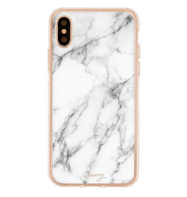 casery white marble iphone case X/Xs