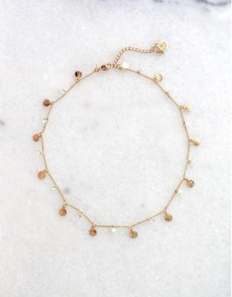 kinsey designs avri coin necklace