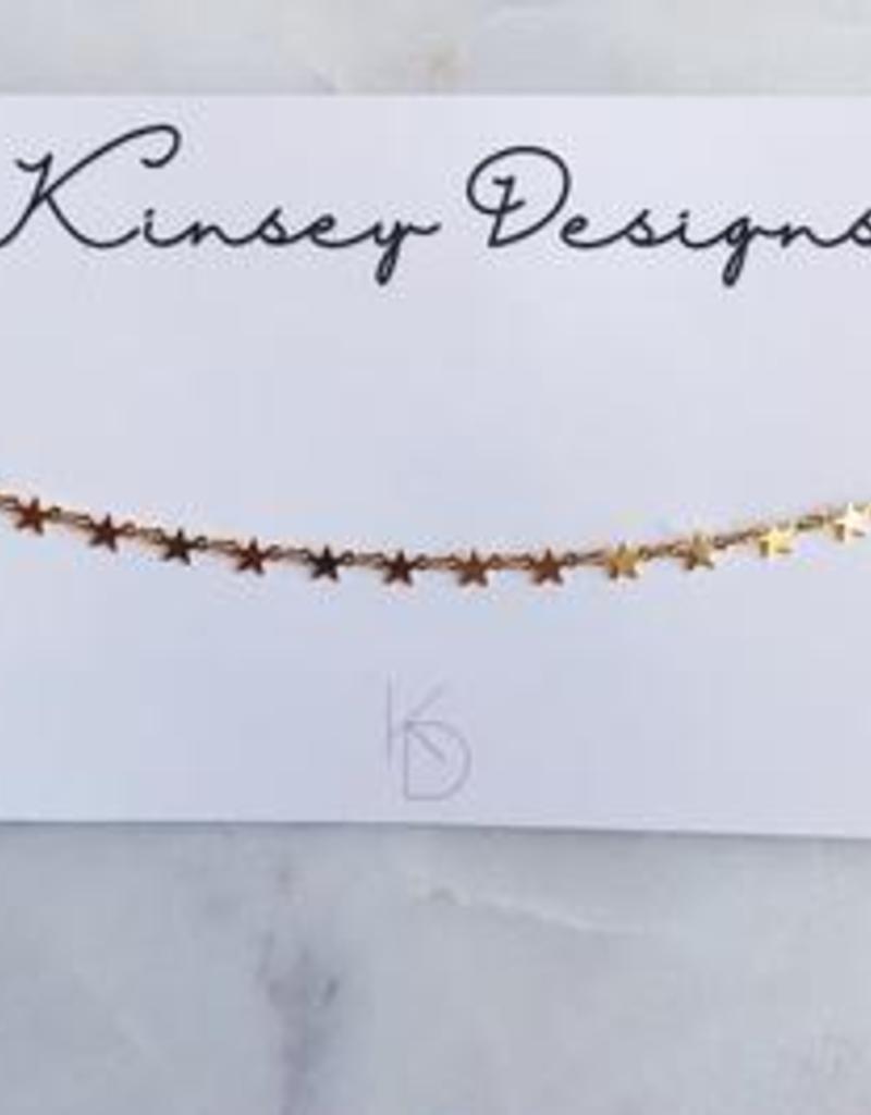 kinsey designs tiny star choker