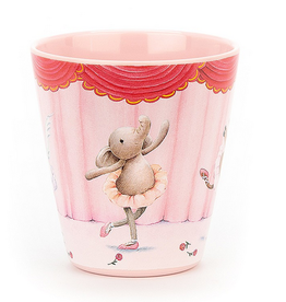 jellycat elly ballerina melamine cup