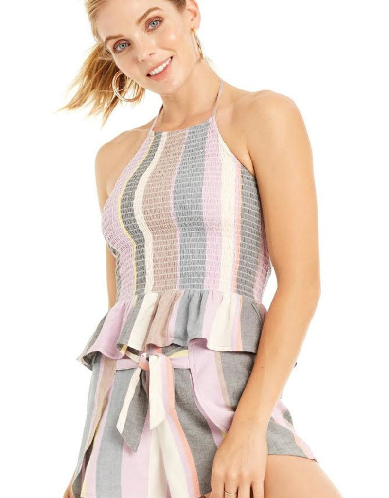 patrons of peace gia striped short