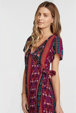 patrons of peace sonya wrap dress