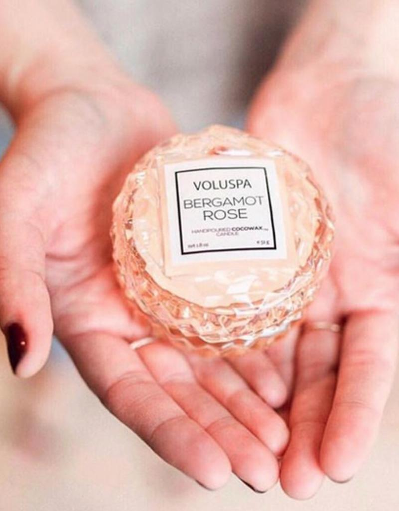 Voluspa Milk Rose MACARON CANDLE 1.8 oz.