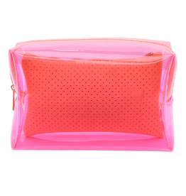 my tagalongs large cosmetic case - malibu pink