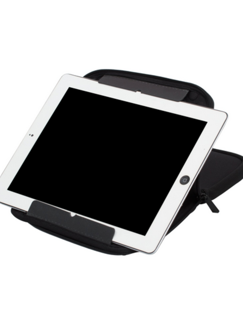 my tagalongs tablet sleeve & stand 2 in 1 - plug in silicone