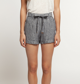 dex cuffed short with self belt FINAL SALE
