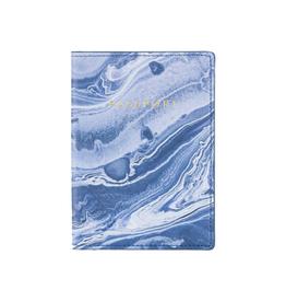 blue marble passport case