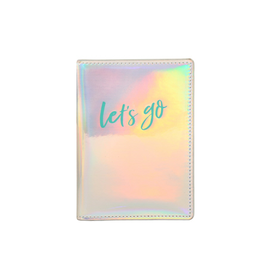 iridescent let go passport case
