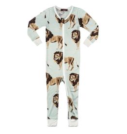 milkbarn lion zipper pajamas