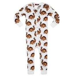 milkbarn bunny zipper pajamas