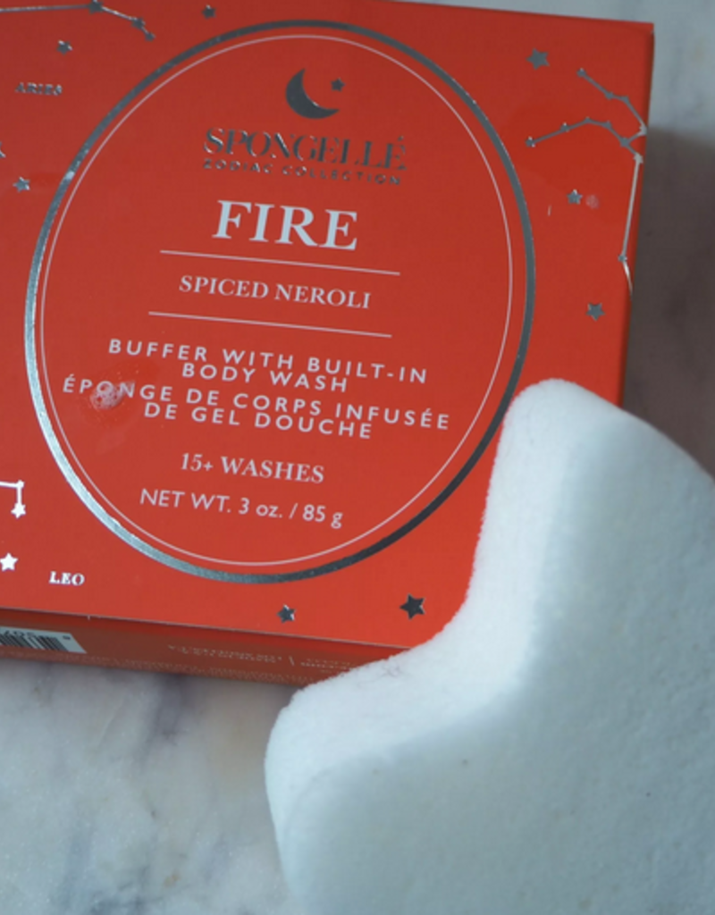 spongelle body wash infused buffer zodiac fire - spiced neroli
