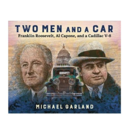 two men and a car