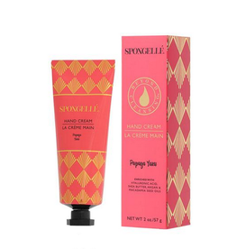 spongelle enriched hand cream - papaya yuzu