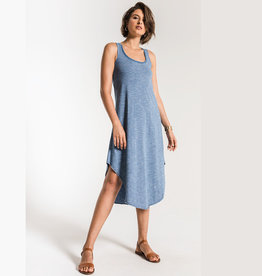 z supply the indigo spacedye dress