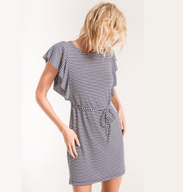 z supply the capri ruffle sleeve dress
