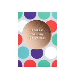 calypso cards sorry you're leaving card
