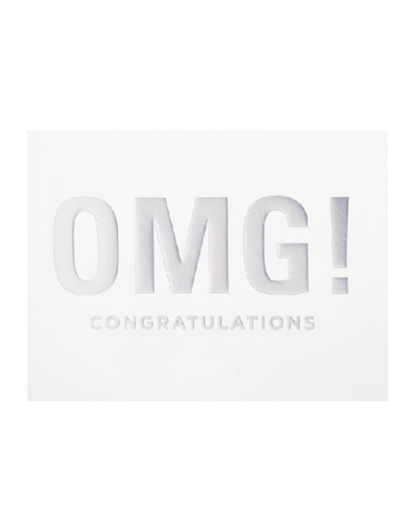 Calypso cards OMG! Congratulations card