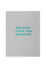 Calypso cards big hug! love you granddad card
