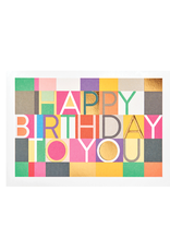 calypso cards birthday checkers