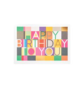 calypso cards birthday checkers