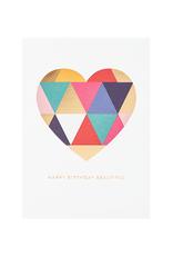 calypso cards geometric heart