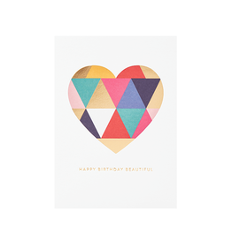 calypso cards geometric heart
