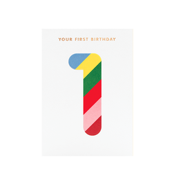 Calypso cards first birthday card