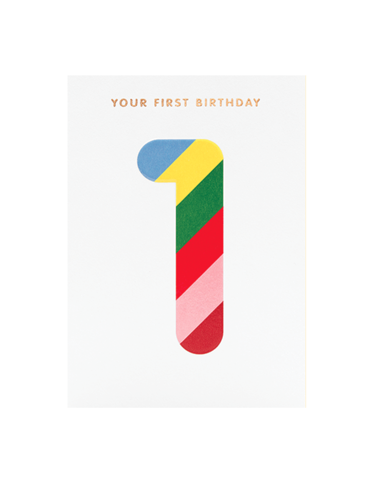 Calypso cards first birthday