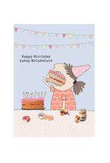 Calypso cards mccake face