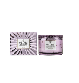 voluspa aurantia & blackberry 11oz corta maison glass candle