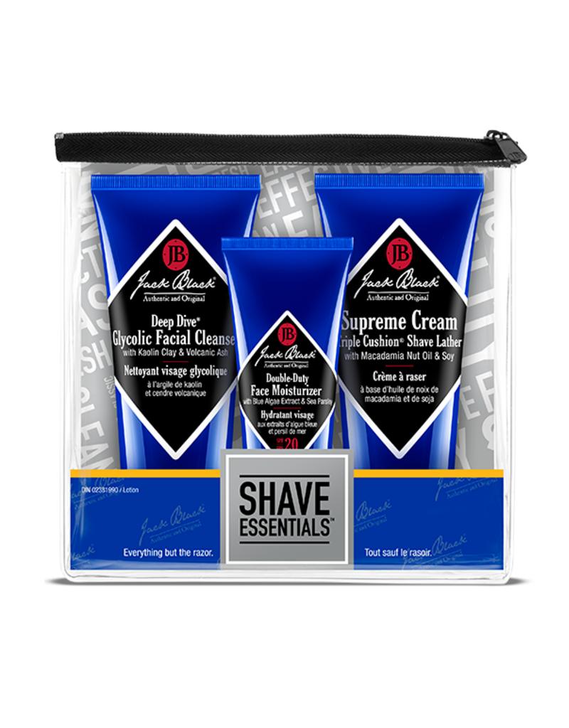 Jack Black shave essentials gift set