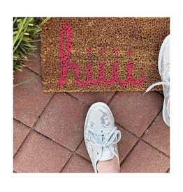packed party hiiii skinny doormat FINAL SALE
