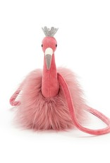 jellycat fancy flamingo bag