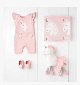 luna unicorn shortall  gift set 0-3 month