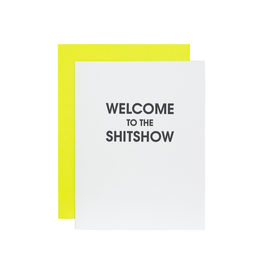 chez gagne welcome to the shit show card