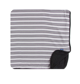 kickee pants india pure stripe toddler blanket